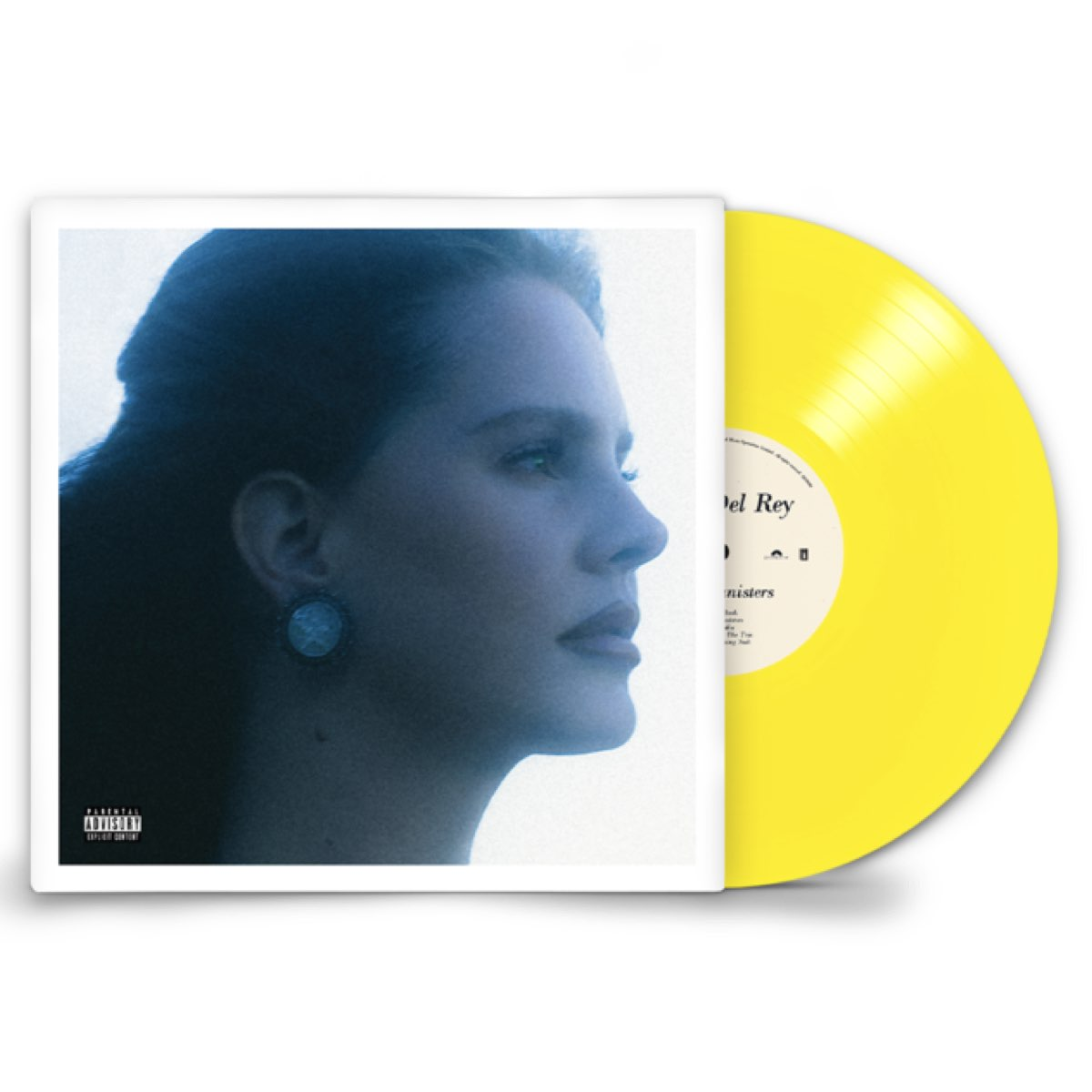 Lana Del Rey - Blue Banisters [Double Transparent Yellow Vinyl]