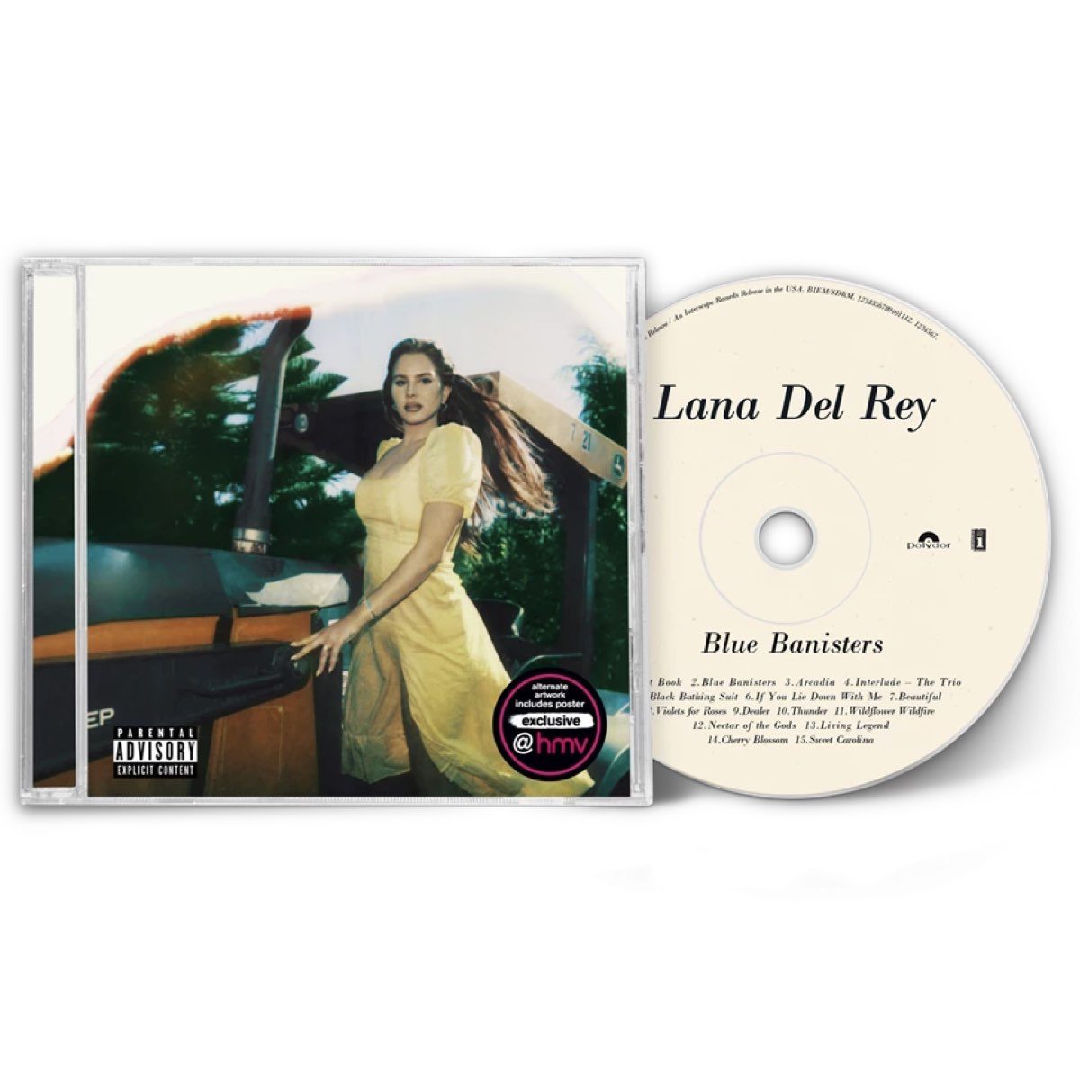 Lana Del Rey - Blue Banisters [HMV Exclusive - Limited Edition - Capa Alternativa] - CD