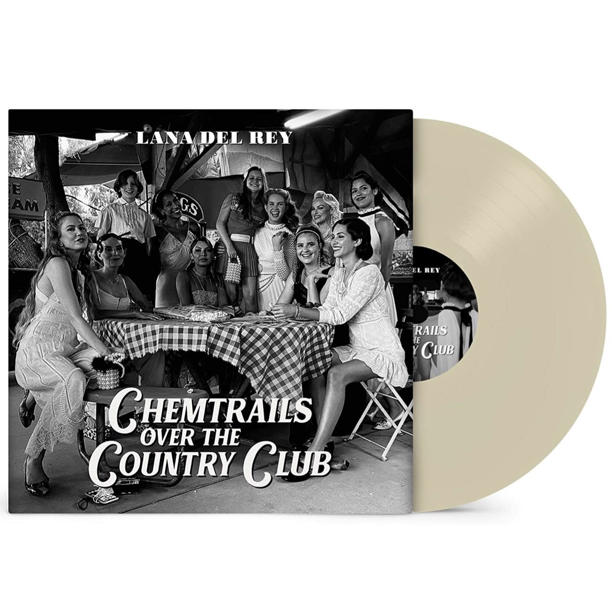 Lana Del Rey - Chemtrails Over the Country Club [Amazon Exclusive - Vinil Bege]