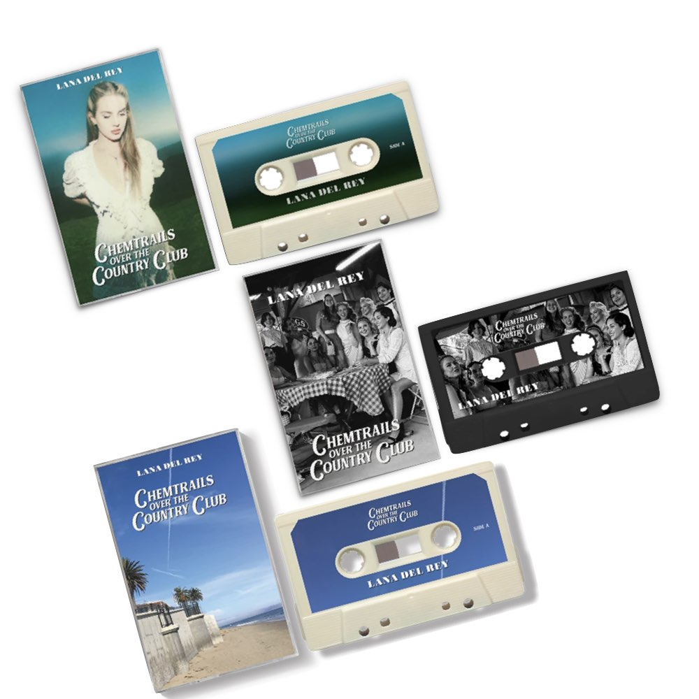 Lana Del Rey - Chemtrails Over The Country Club [Cassette Bundle]
