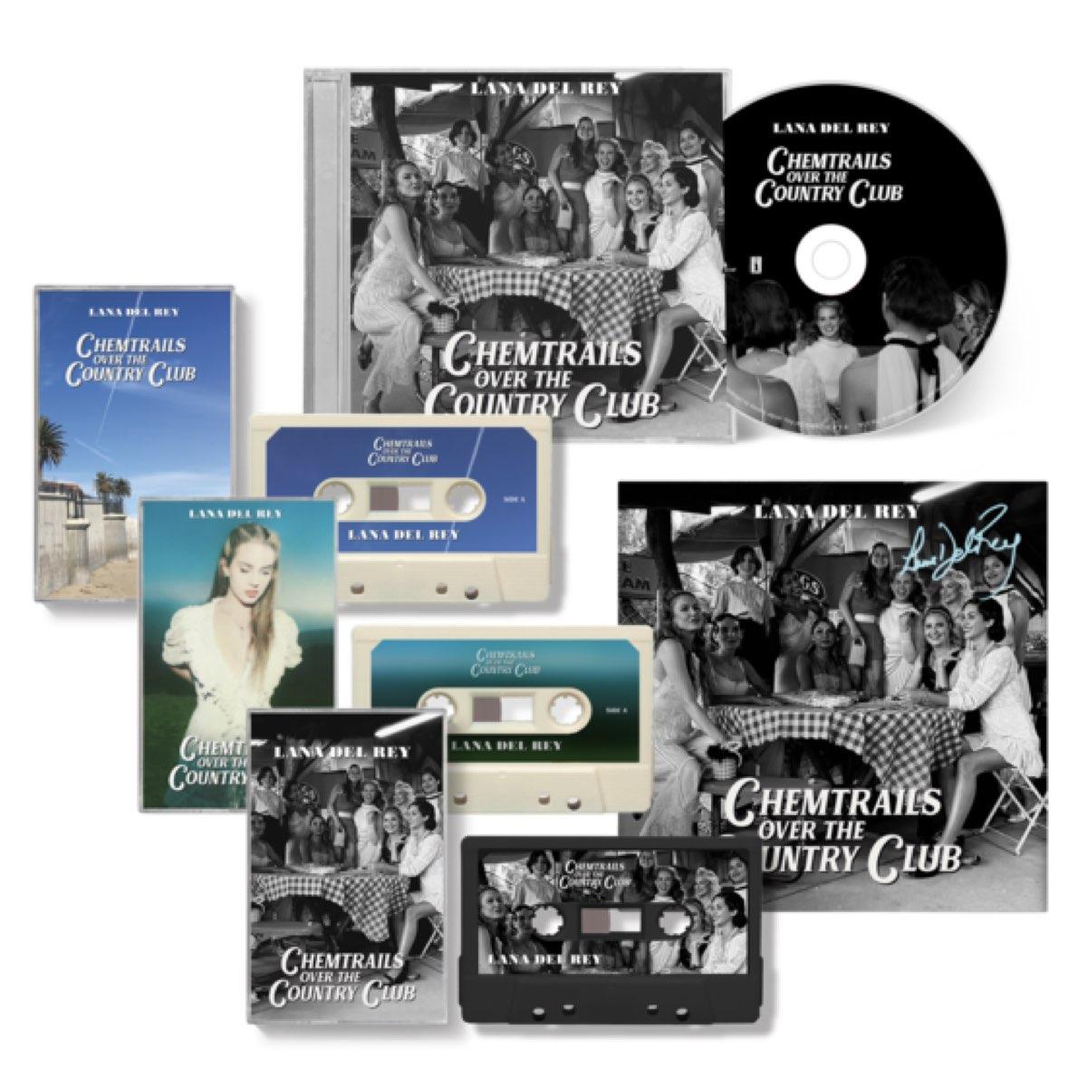 Lana Del Rey - Chemtrails Over The Country Club [Cassette Bundle + Cd Autografado]