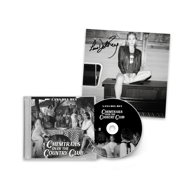 Lana Del Rey - Chemtrails Over The Country Club [CD Standard + Litho Autografado]