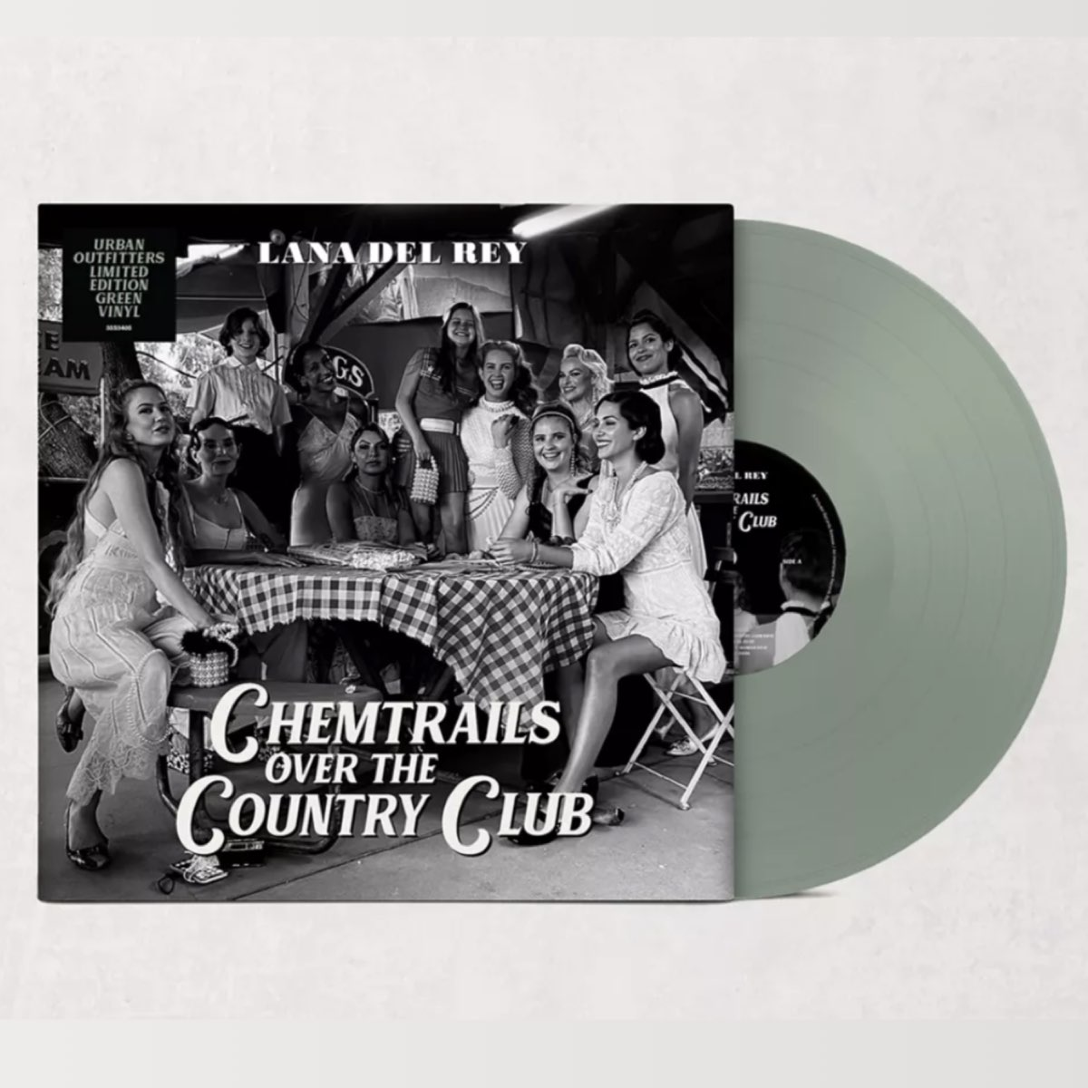 Lana Del Rey - Chemtrails Over the Country Club [Green Vinyl - Urban Outfitters Exclusive]