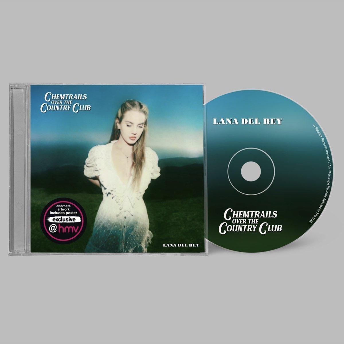 Lana Del Rey - Chemtrails Over the Country Club [hmv Exclusive] CD - Edição Limitada
