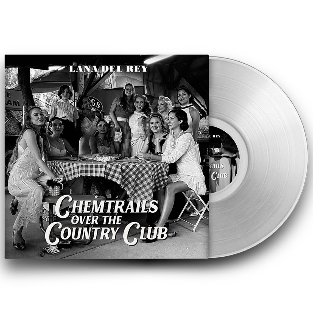 Lana Del Rey - Chemtrails Over the Country Club [Limited Exclusive Edition - Transparent Vinyl]