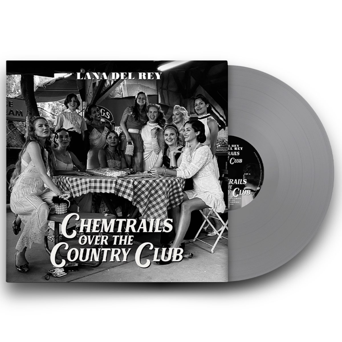 Lana Del Rey - Chemtrails Over the Country Club [Limited Exclusive Edition - Grey Vinyl]