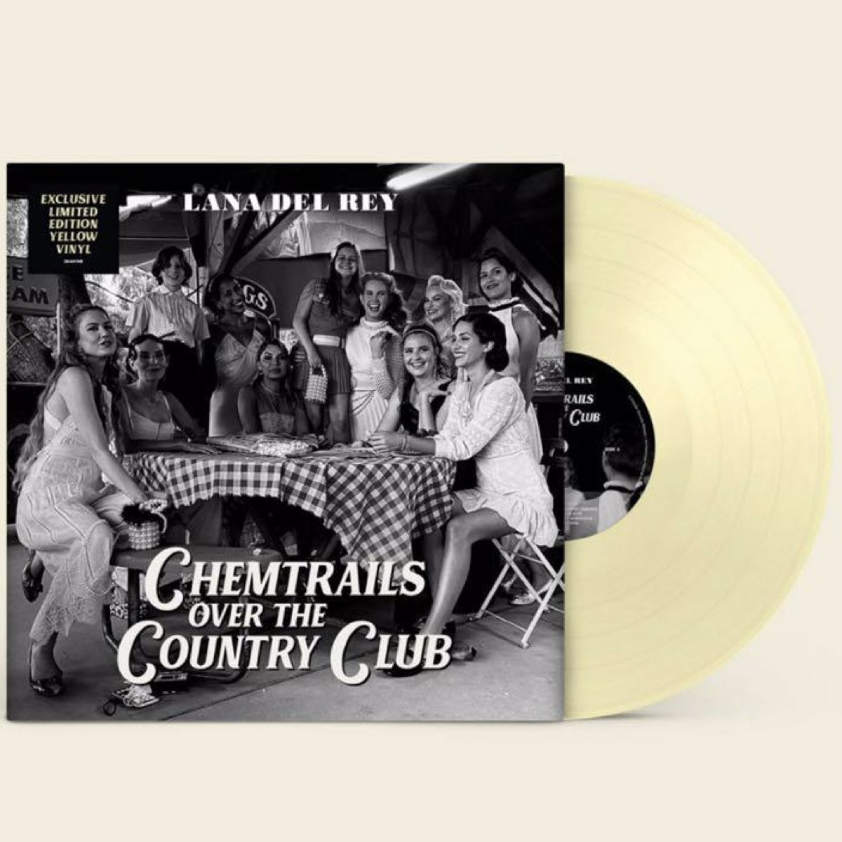 Lana Del Rey - Chemtrails Over the Country Club [Limited Indies Only Yellow LP]