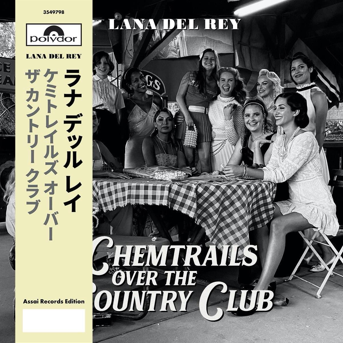 Lana Del Rey - Chemtrails Over the Country Club [Limited Indies Only Yellow LP - Assai Numerado - Japanese OBI]
