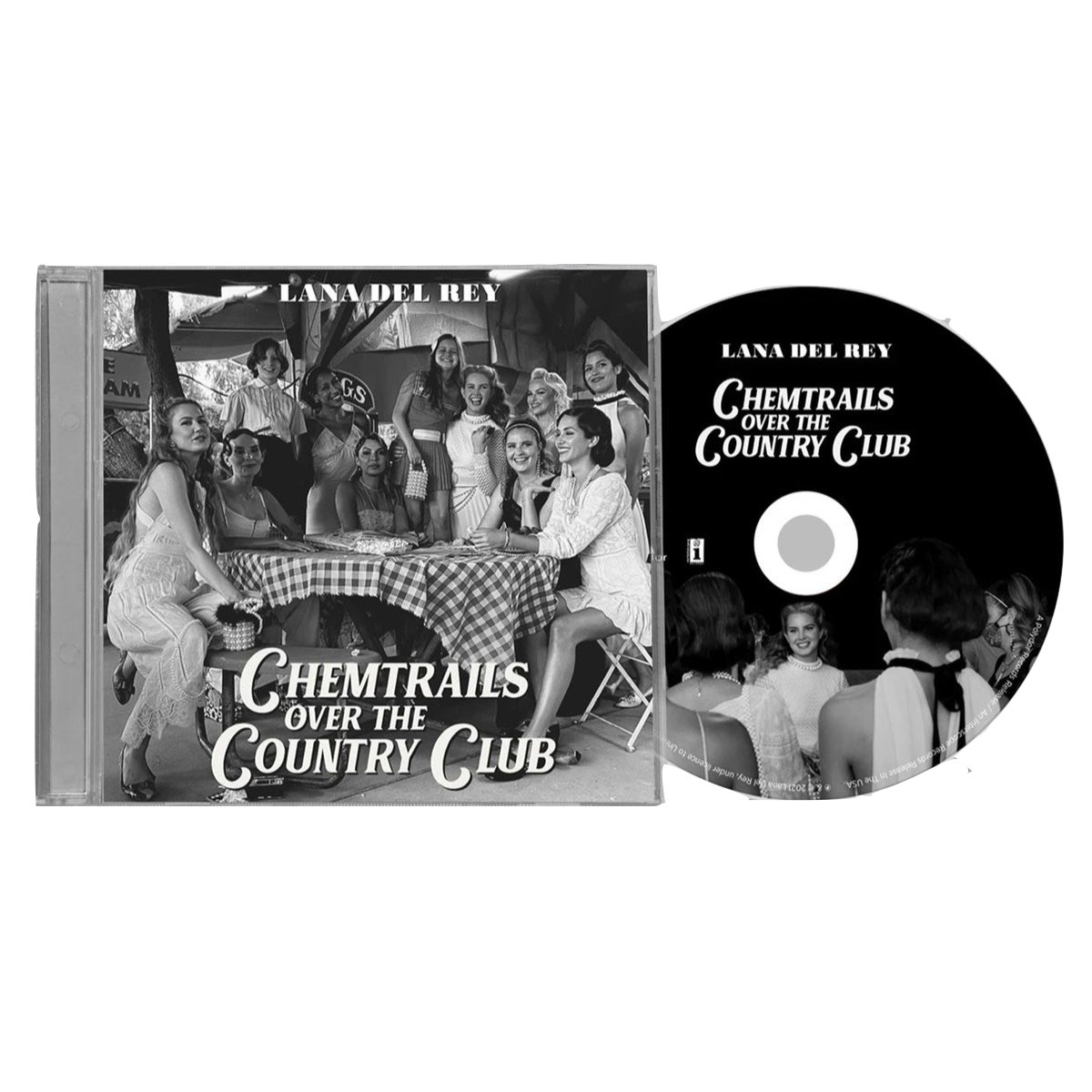 Lana Del Rey - Chemtrails Over the Country Club [Standard CD]