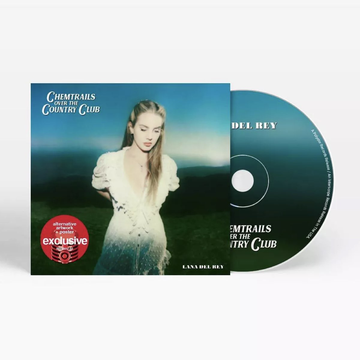 Lana Del Rey - Chemtrails Over The Country Club [Target Exclusive, CD]