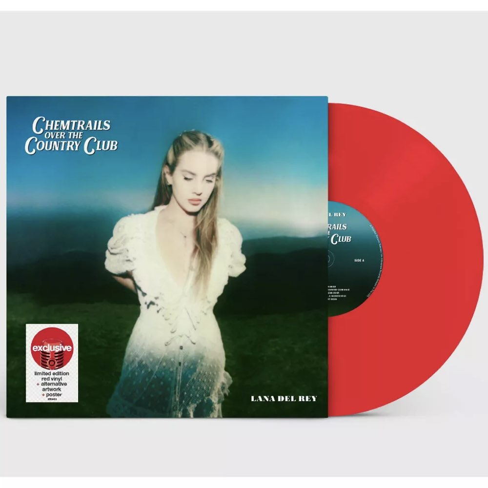 Lana Del Rey - Chemtrails Over the Country Club [Target Exclusive] Red LP
