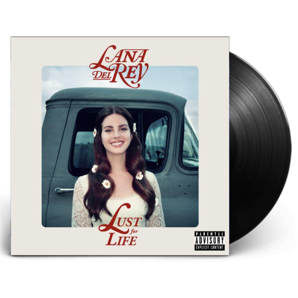 Lana Del Rey - Lust For Life [Double Black Vinyl]