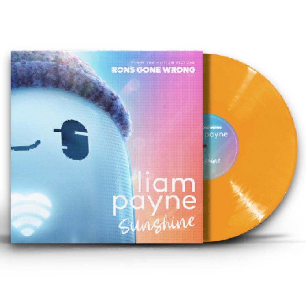 Liam Payne - Sunshine [Limited Edition - Orange Vinyl Single - AUTOGRAFADO]