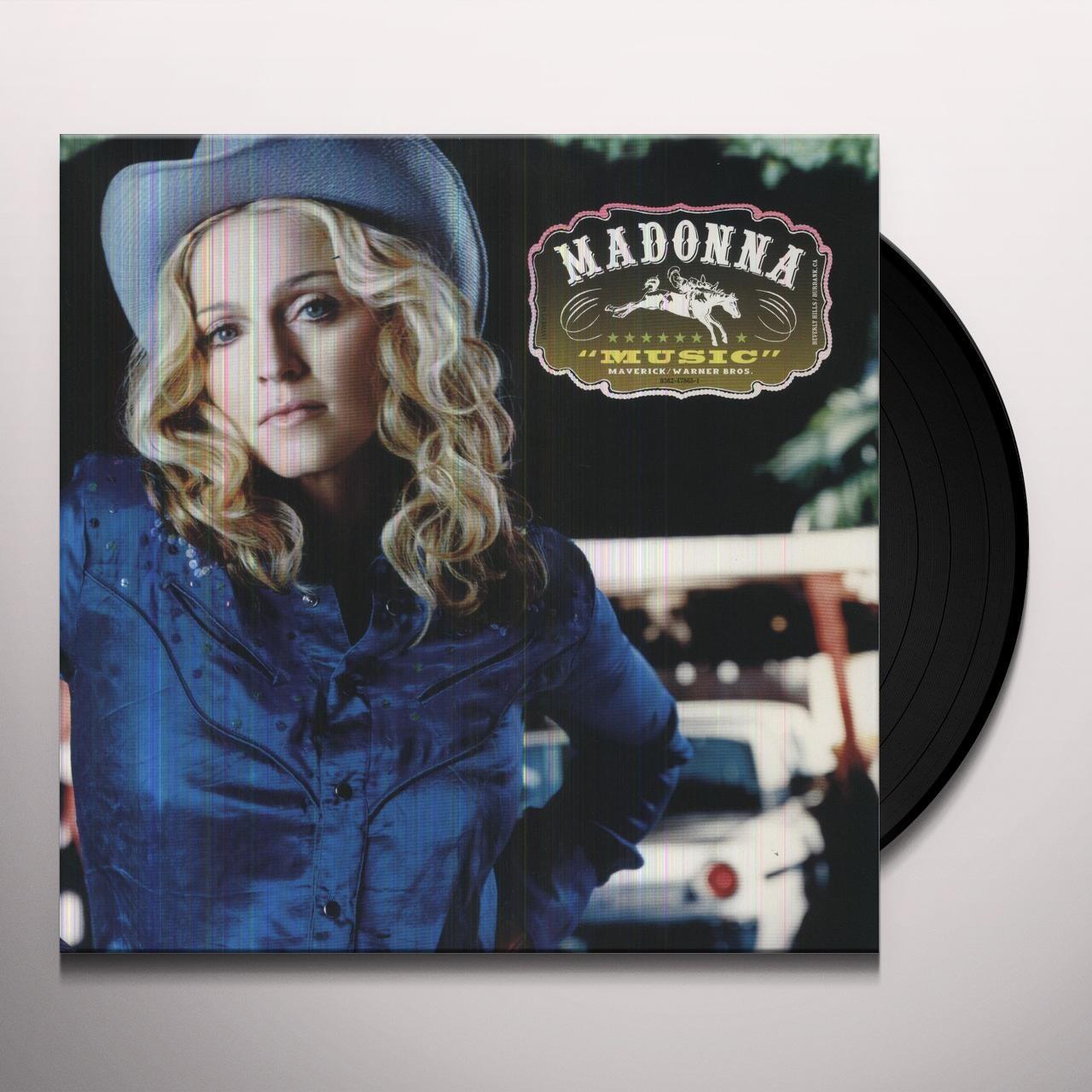 Madonna - Music [Black Vinyl]