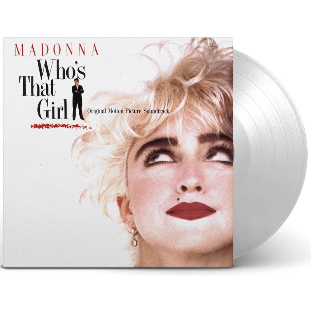 Madonna - Who's That Girl [Limited Clear Vinyl]