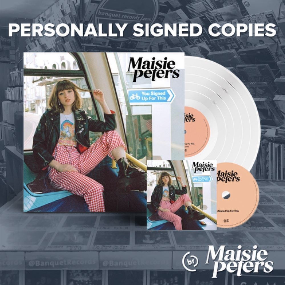 Maisie Peters - You Signed Up For This [Combo CD + Vinil Autografado]