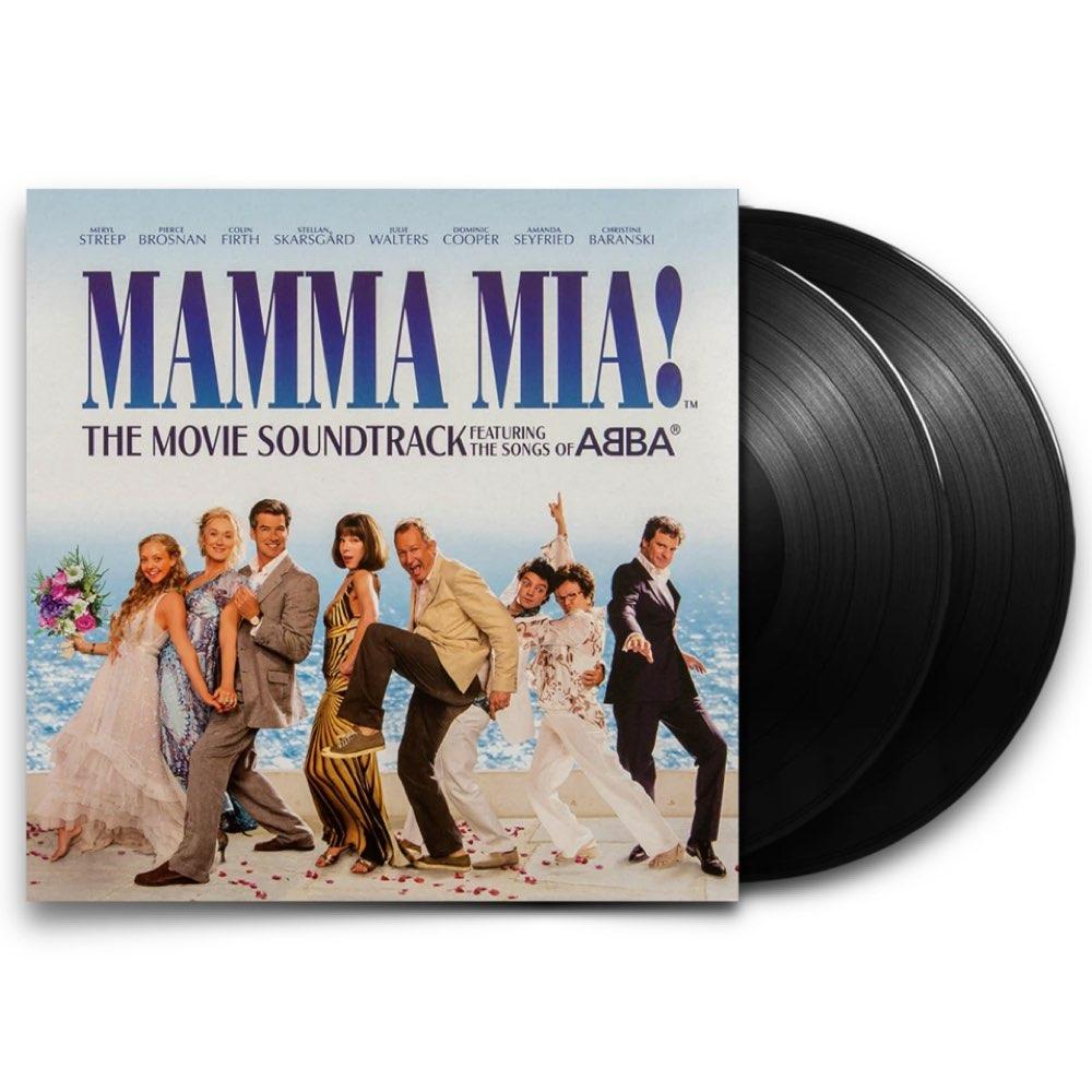 Mamma Mia! - The Movie Soundtrack [Double Black Vinyl]