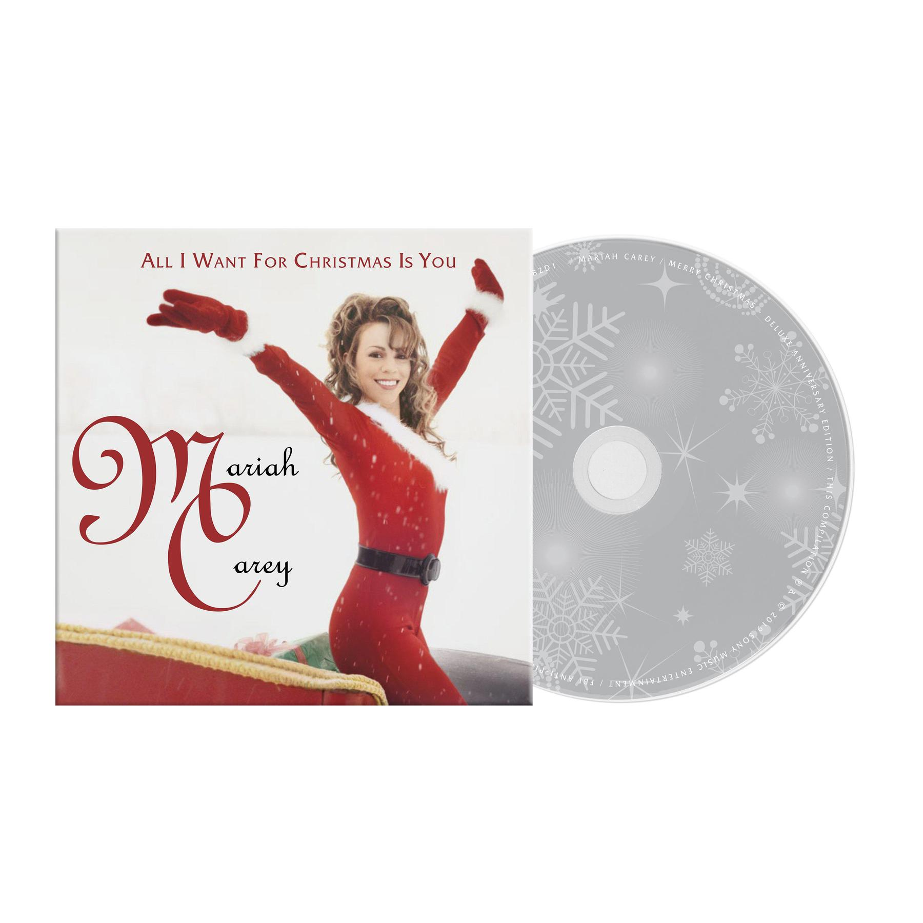 Mariah Carey - All I Want For Christmas Is You [Limited Edition CD Single]