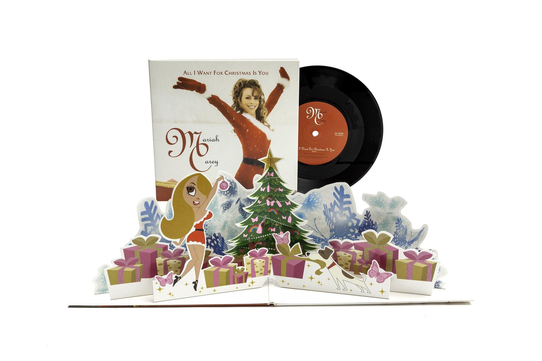 """Mariah Carey - All I want For Christmas Is You Single [Vinil 7"""" - Edição Limitada]"""