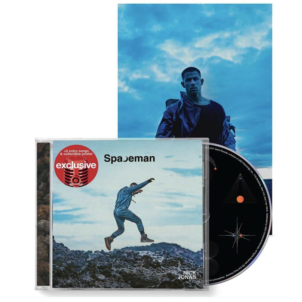 Nick Jonas - Spaceman [Target Exclusive, Limited Edition CD]