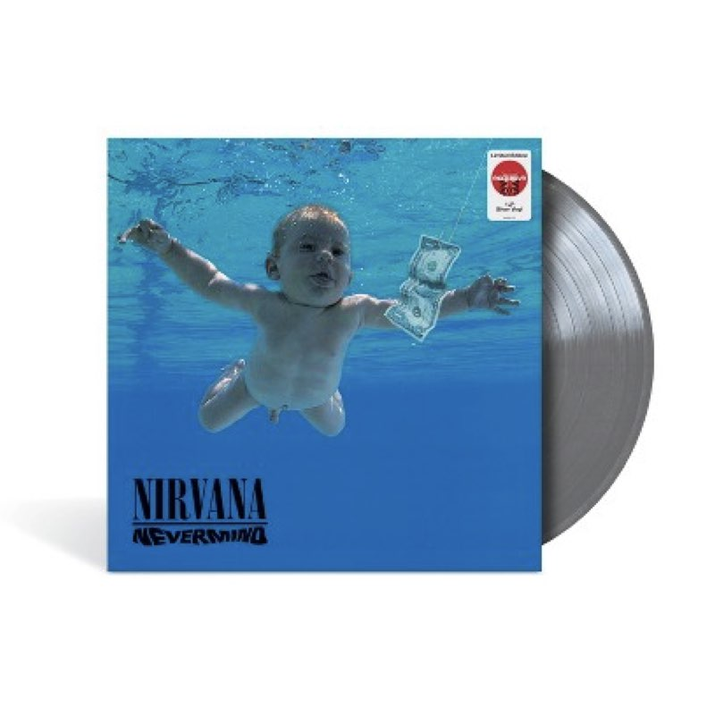 Nirvana - Nevermind [Target Exclusive, Silver Vinyl]