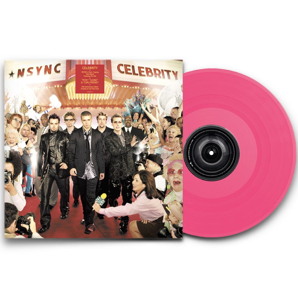 NSync - Celebrity [20Th Anniversary Limited Edition - Pink Vinyl]