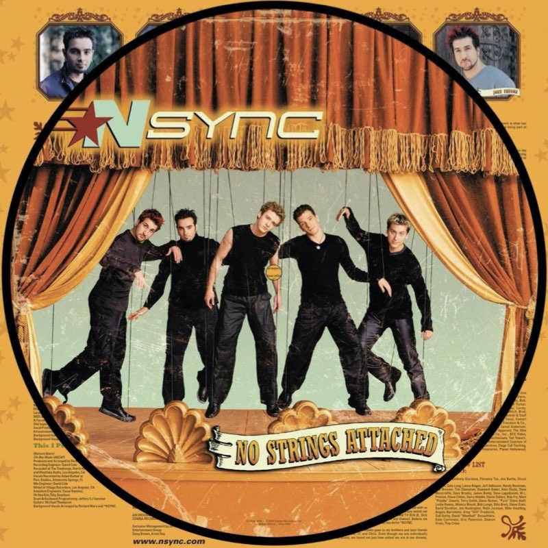 NSync - No Strings Attached - [20th Anniversary Edition] - [Picture Disc]
