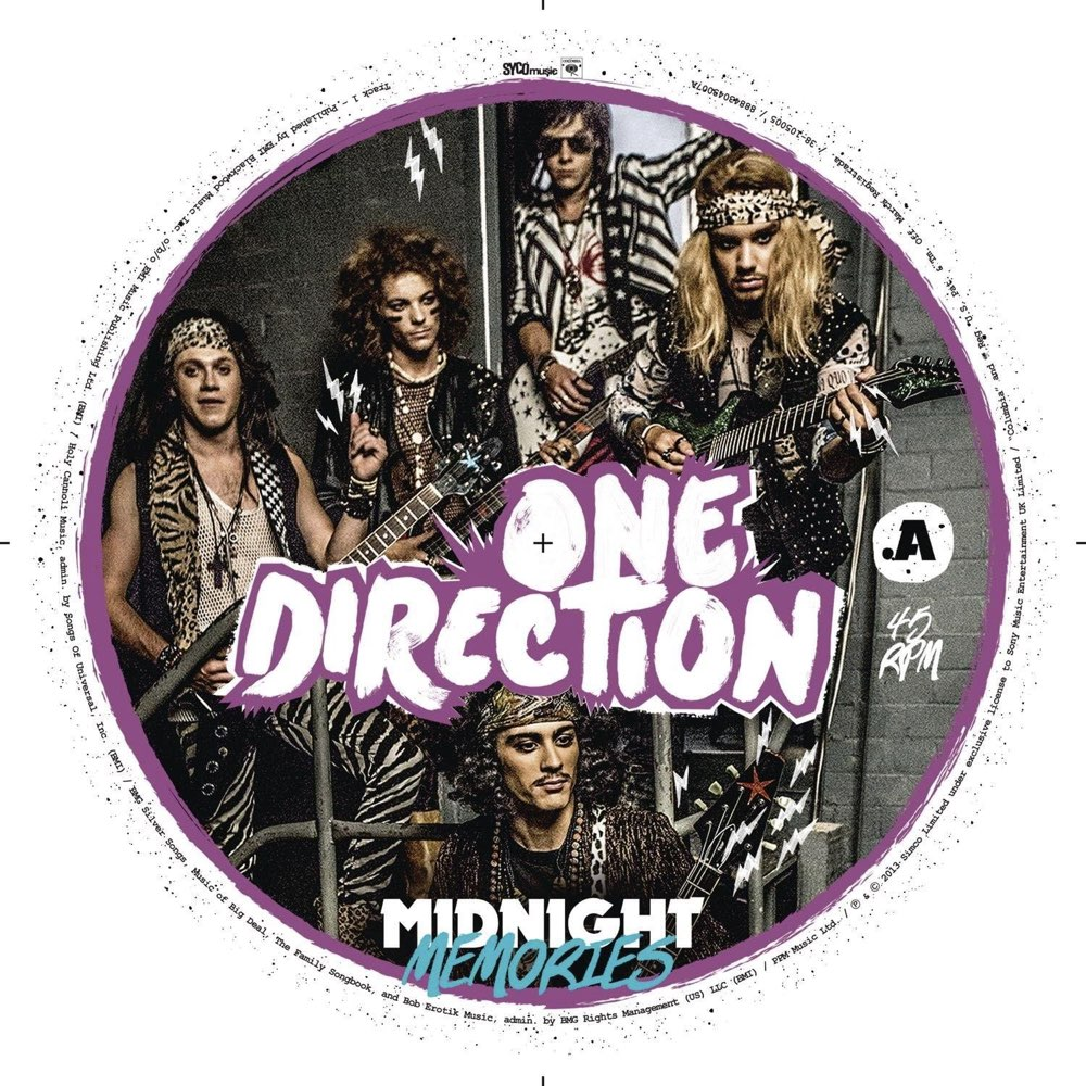 """One Direction - Midnight Memories [7"""" Vinyl - Limited Edition]"""