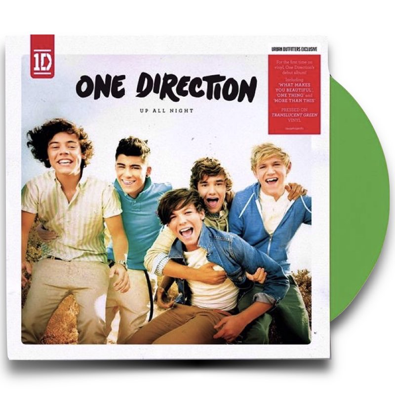 One Direction - Up All Night Limited LP [Vinil Duplo Verde Translúcido]