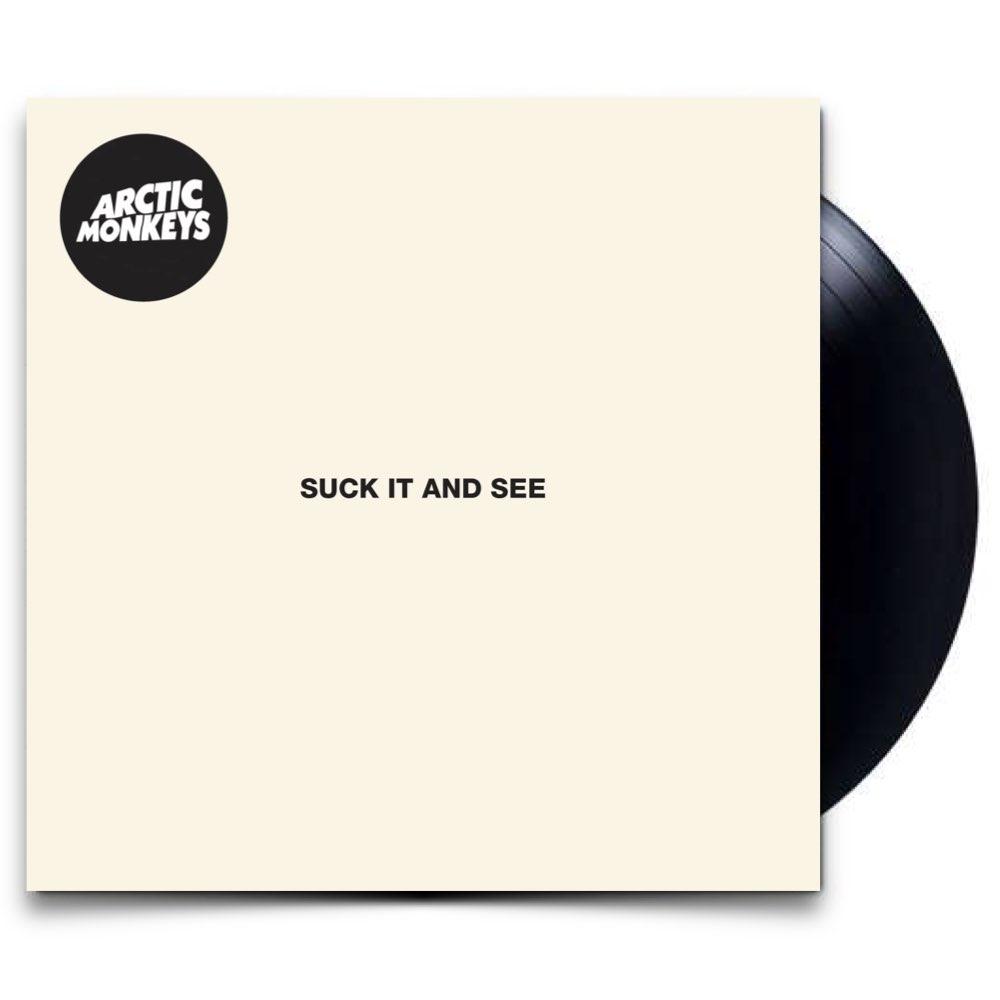 OUTLET - Arctic Monkeys - Suck it And See [Black Vinyl] - AVARIA - LEIA A DESCRIÇÃO