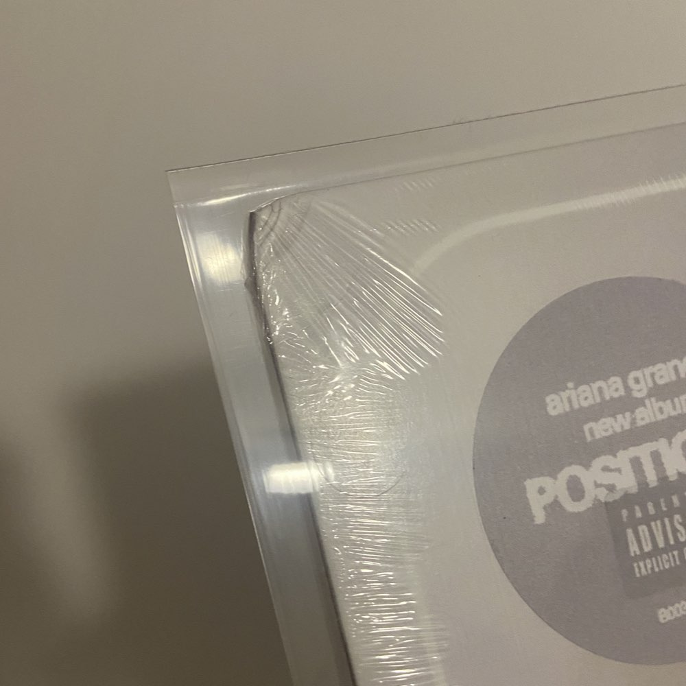 OUTLET - Ariana Grande - Positions [Limited Edition - Coke Bottle Vinyl] - AVARIA - LEIA DESCRIÇÃO