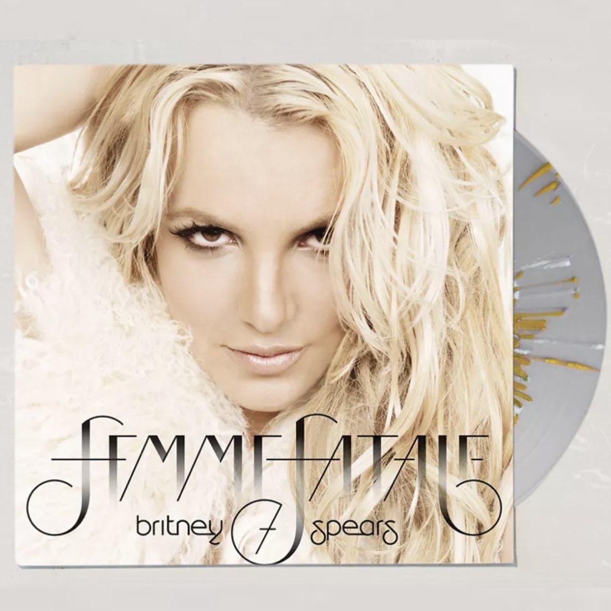 OUTLET - Britney Spears - Femme Fatale [Splattered Vinyl] - SEMIABERTO
