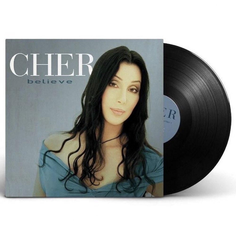 OUTLET - Cher - Believe [Black Vinyl] - Capa Espelhada - AVARIA - LEIA A DESCRIÇÃO