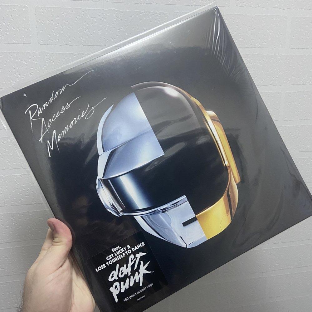 OUTLET - Daft Punk - Random Access Memories [Double Black Vinyl] - AVARIA - LEIA A DESCRIÇÃO