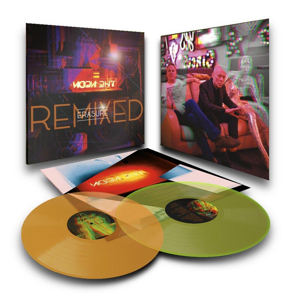 OUTLET - Erasure - Neon Remixed [Vinil Duplo Colorido] - AVARIA - LEIA A DESCRIÇÃO
