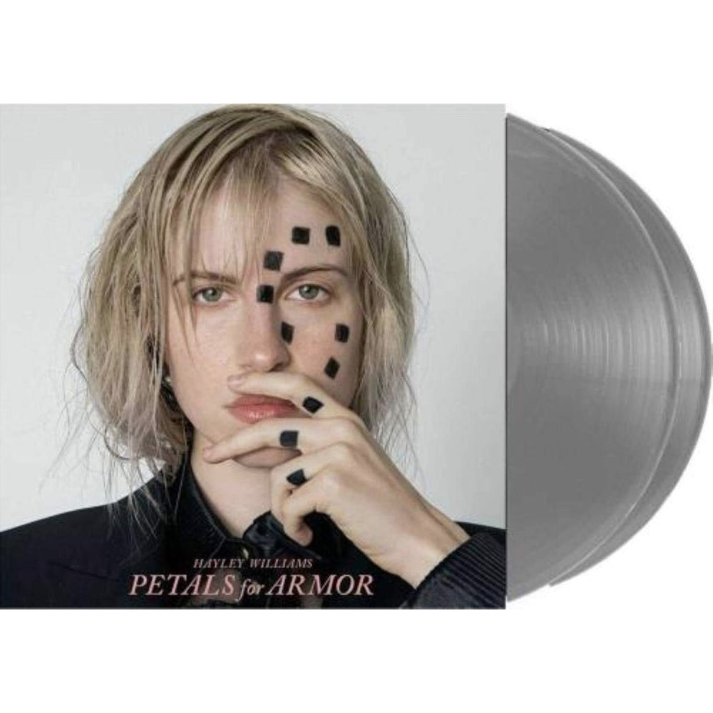 OUTLET - Hayley Williams - Petals For Armor [Limited Edition - Double Silver Vinyl] - AVARIA - LEIA DESCRIÇÃO
