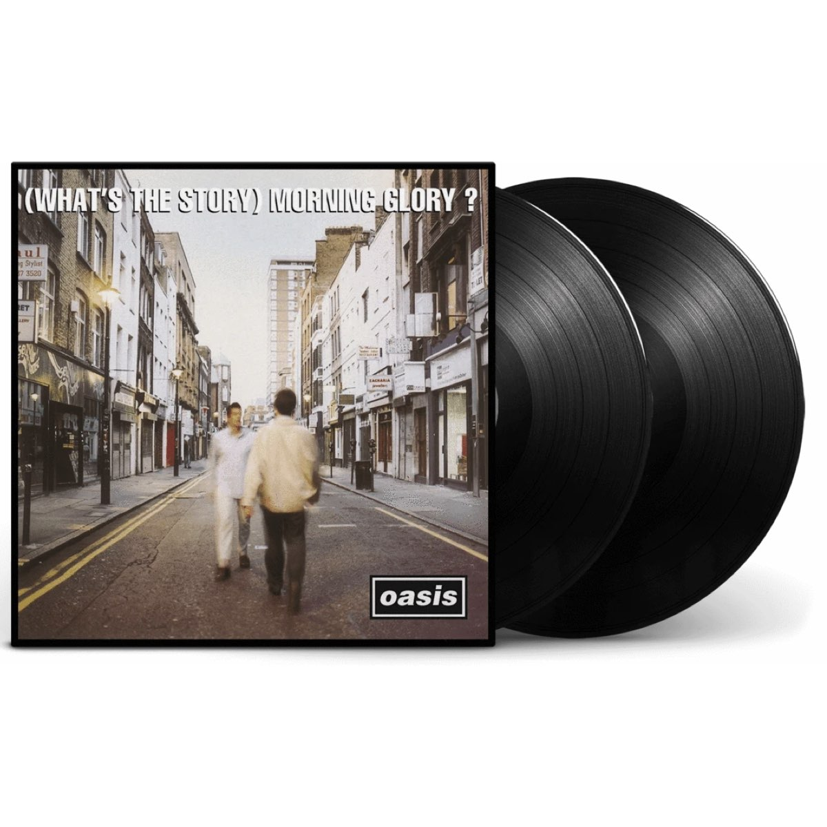 OUTLET - Oasis - (What's the Story) Morning Glory? [Double Black Vinyl] - PEQUENA AVARIA - LEIA A DESCRIÇÃO