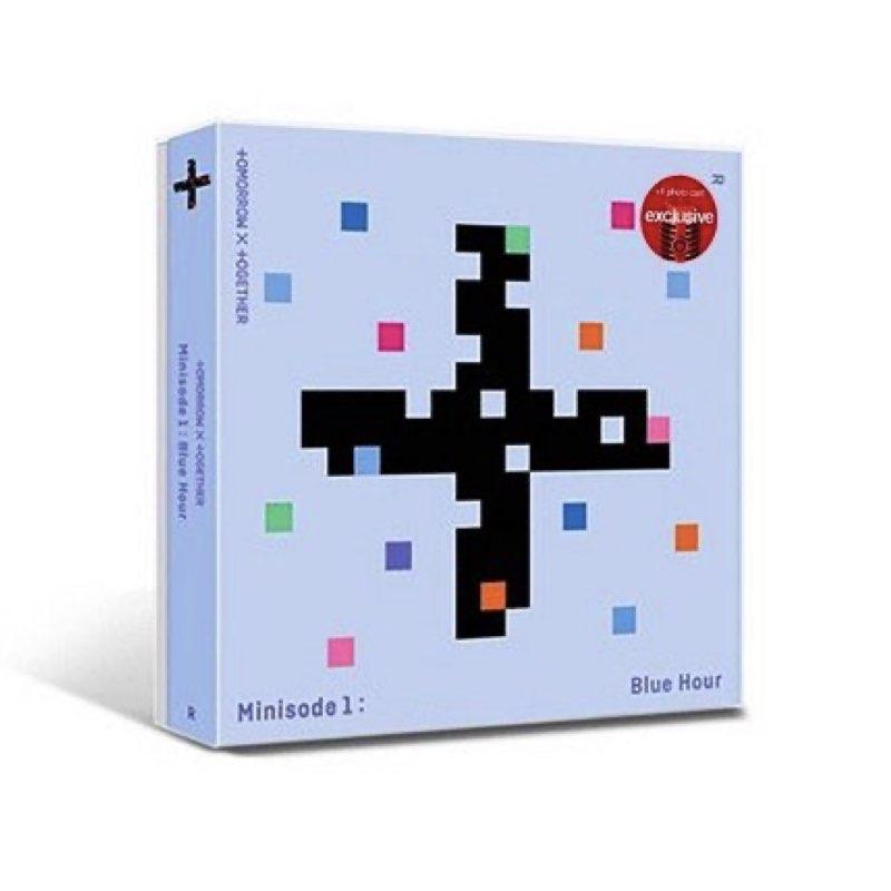 OUTLET: TOMORROW X TOGETHER - Minisode 1 : Blue Hour [Target Exclusive, CD] [CD COM AVARIA - LER DESCRIÇÃO]