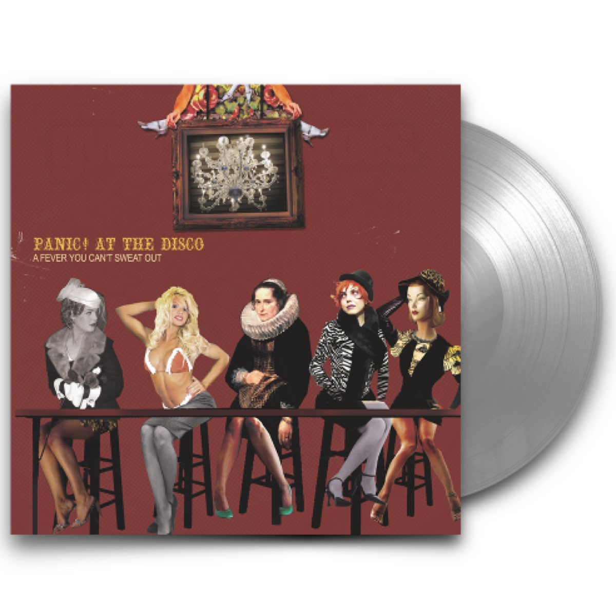 Panic! At The Disco - A Fever That You Can't Sweat Out [Fueled by Ramen 25th Anniversary Edition Silver Vinyl]
