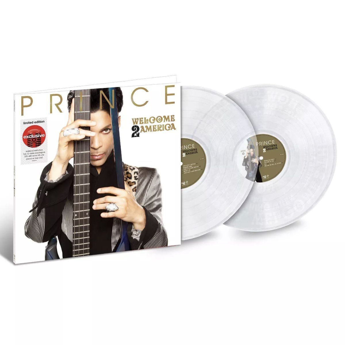 Prince - Welcome 2 America [Double Clear Vinyl - Target Exclusive]