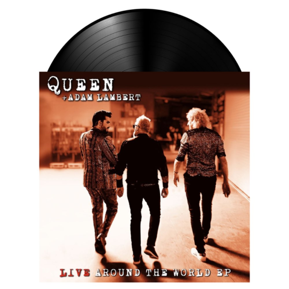 Queen & Adam Lambert -Live Around The World EP - RSD 2021