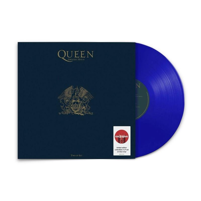 Queen - Greatest Hits 2  (Target Exclusive, Blue Vinyl)