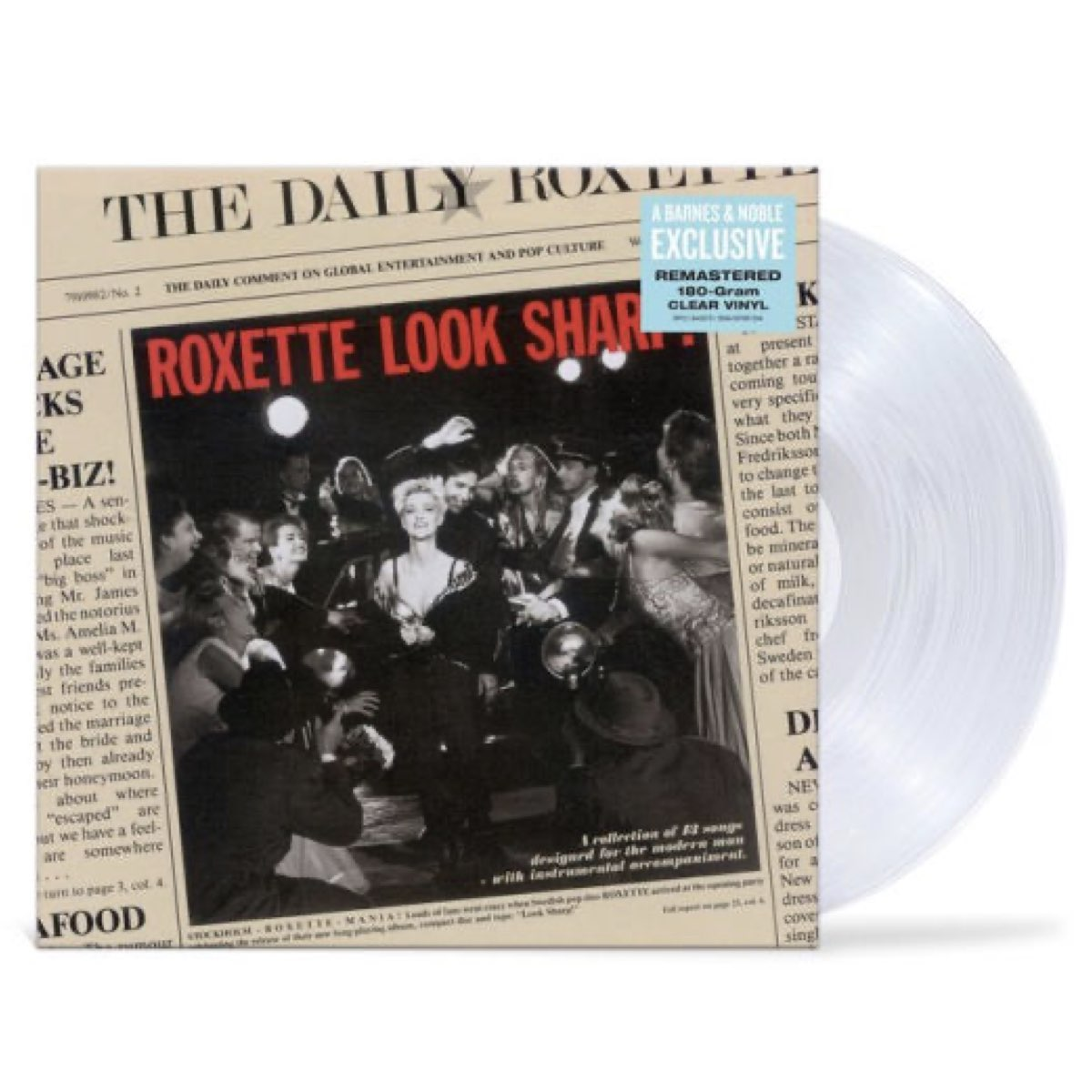 Roxette - Look Sharp! [Limited Edition - Clear Vinyl]