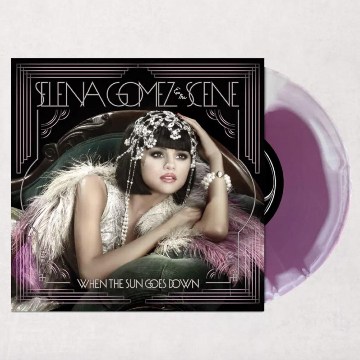 Selena Gomez & The Scene - When The Sun Goes Down [Edição Limitada - Urban Outfitters]