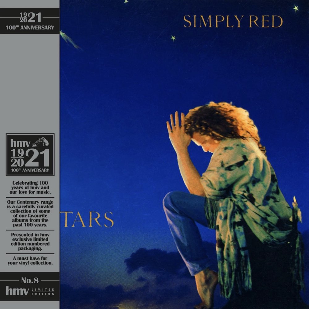 Simply Red - Stars (hmv Exclusive) the 1921 Centenary Edition Blue Vinyl
