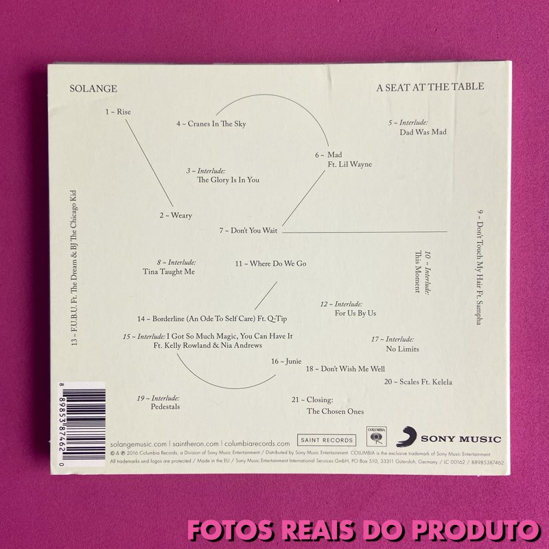 Solange - A Seat At the Table [CD - Importado]