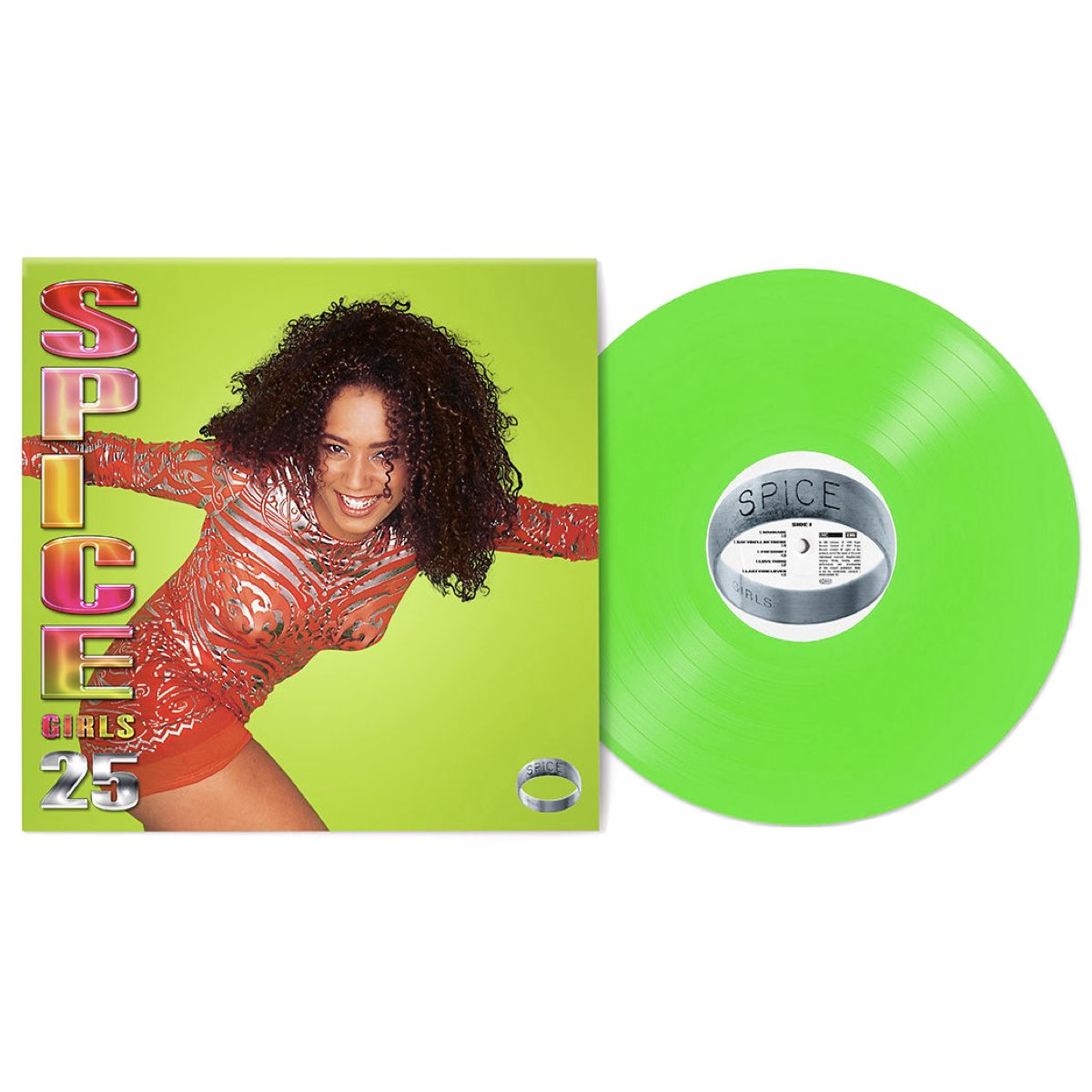 Spice Girls - Spice - 25th Anniversary [Scary Light Green Coloured - Vinyl LP]