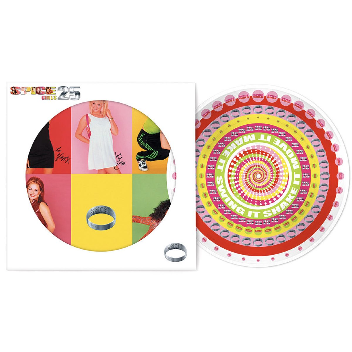 Spice Girls - Spice - 25th Anniversary [Zoetrope Picture Disc]
