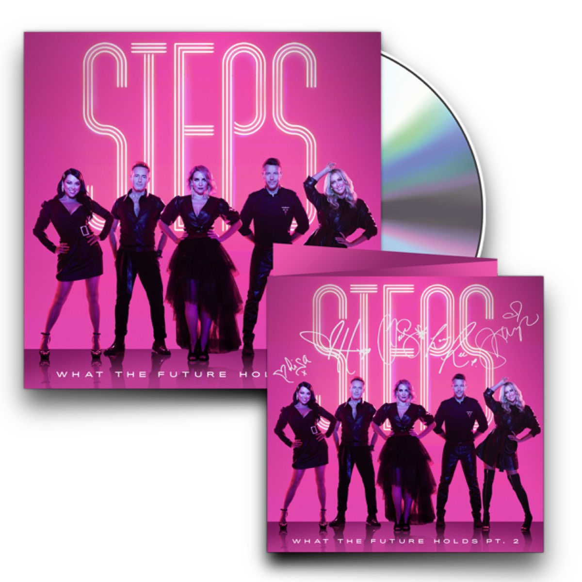 Steps - What The Future Holds PT.2 [CD Deluxe com Card Autografado]