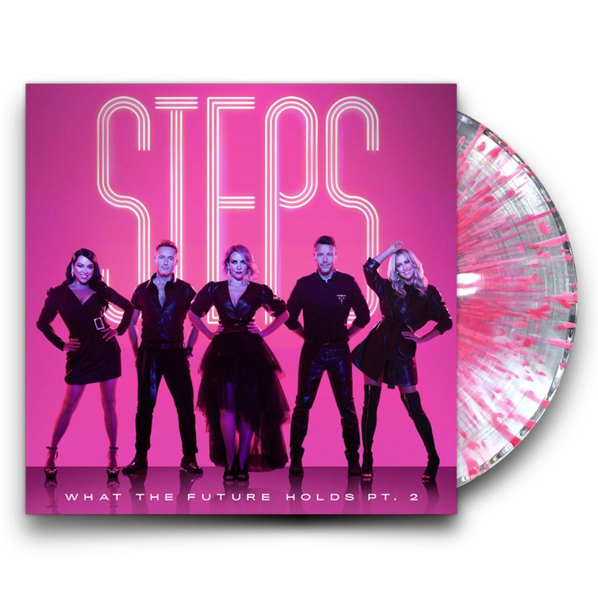 Steps - What The Future Holds PT.2 [Splatter Vinyl - Autografado]